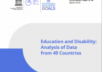 Education and Disability: Analysis of Data from 49 Countries