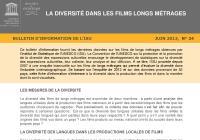 La diversité dans les films longs métrages