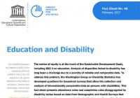 Education and Disability