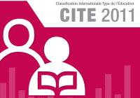 Classification Internationale Type de l'Éducation, CITE 2011