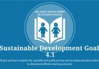 SDG target 4.1 icon
