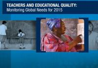 Teachers and Educational Quality: Monitoring Global Needs for 2015
