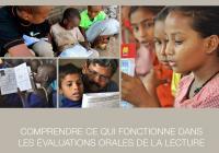 Comprendre ce qui fonctionne dans les évaluations orales de la lecture :  Recommandations des donateurs, des praticiens et des personnes chargées de leur mise en oeuvre