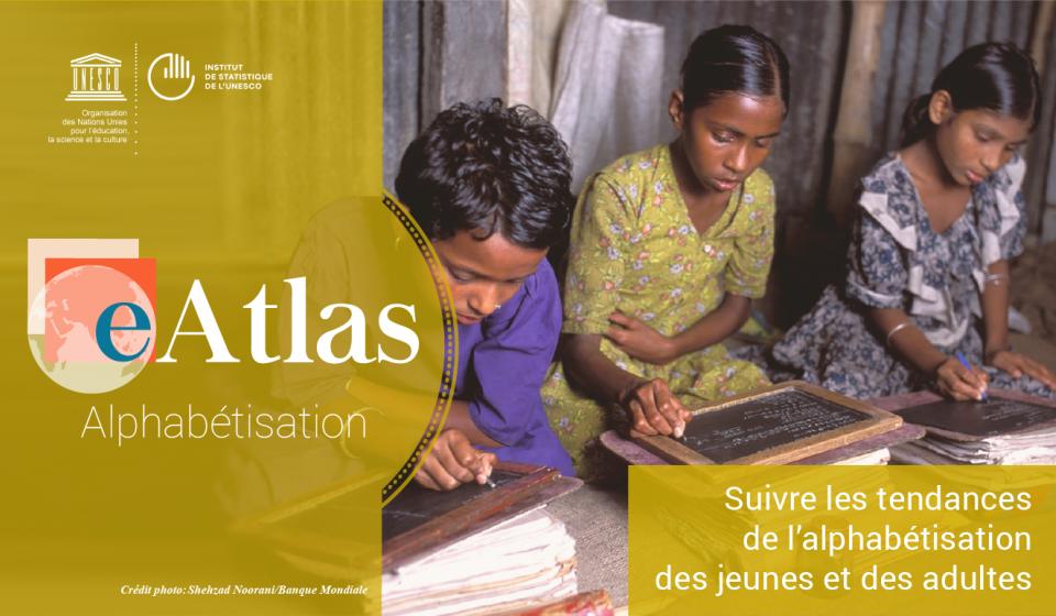 L'eAtlas de l'UNESCO sur l'alphabétisme