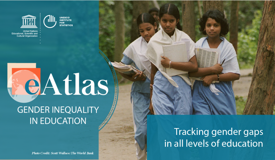 UNESCO eAtlas of Gender Inequality in Education