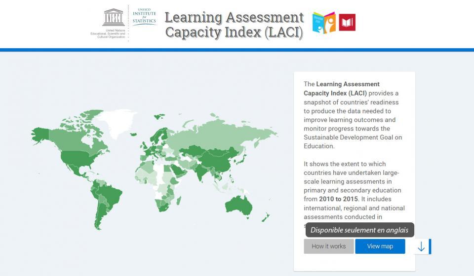 Indice de capacité sur l'évaluation de l'apprentissage (LACI)