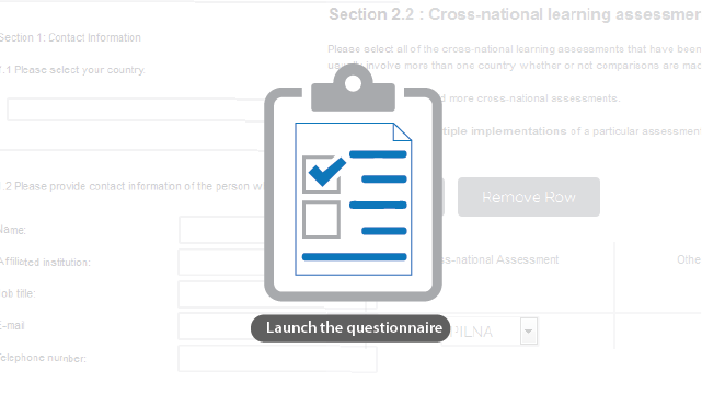 Launch the questionnaire